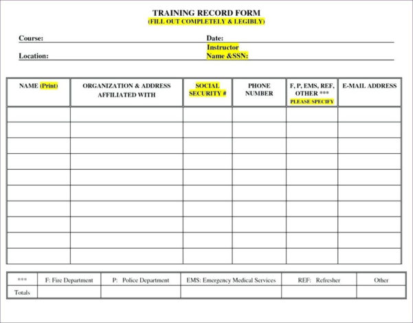 Excel Spreadsheet To Track Employee Training Within Tracking Employee Training Spreadsheet Excel To Track Lovely