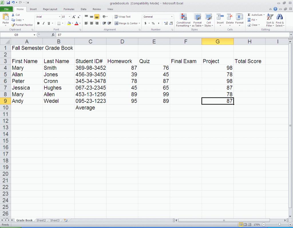 Excel Spreadsheet Tutorial 2010 With Regard To Spreadsheet Tutorial Excel 2010  Aljererlotgd