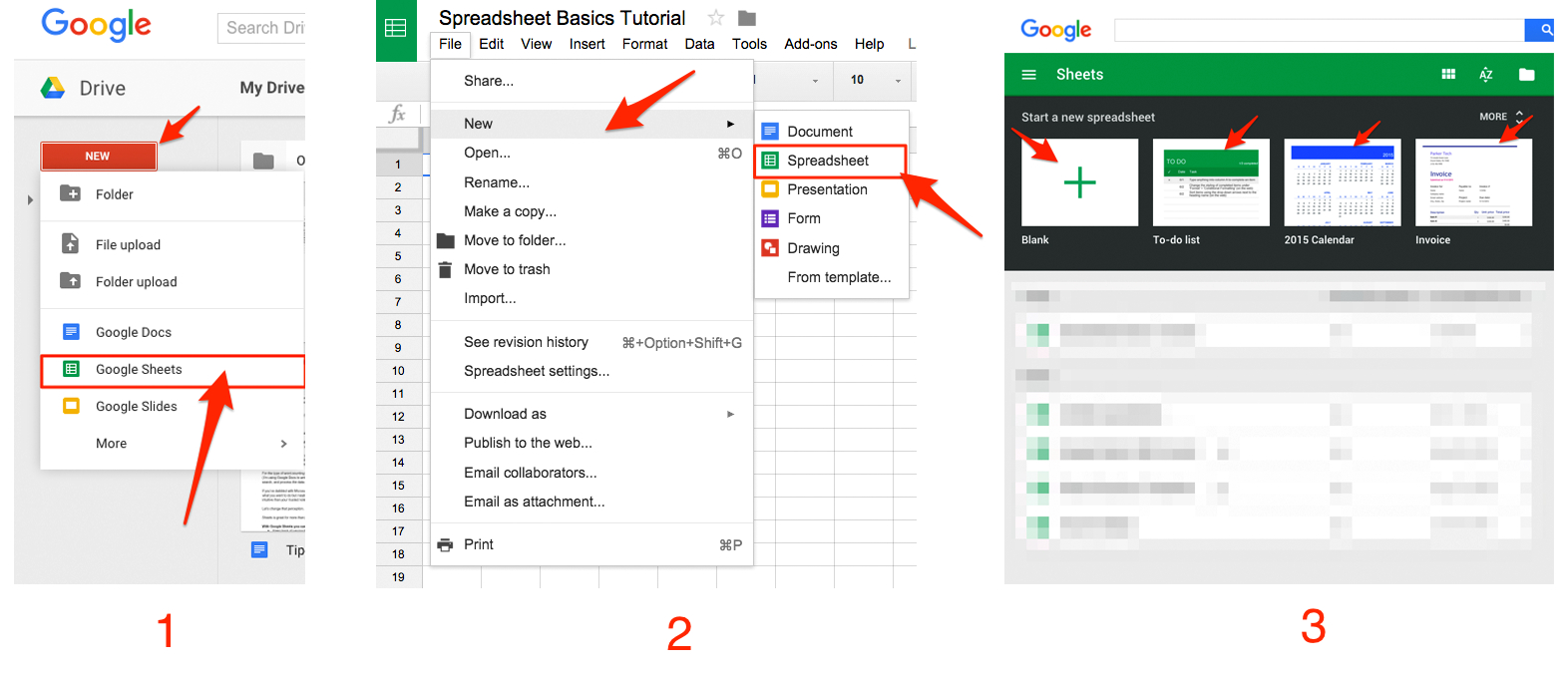 Excel Spreadsheet Tutorial For Google Sheets 101: The Beginner's Guide To Online Spreadsheets  The