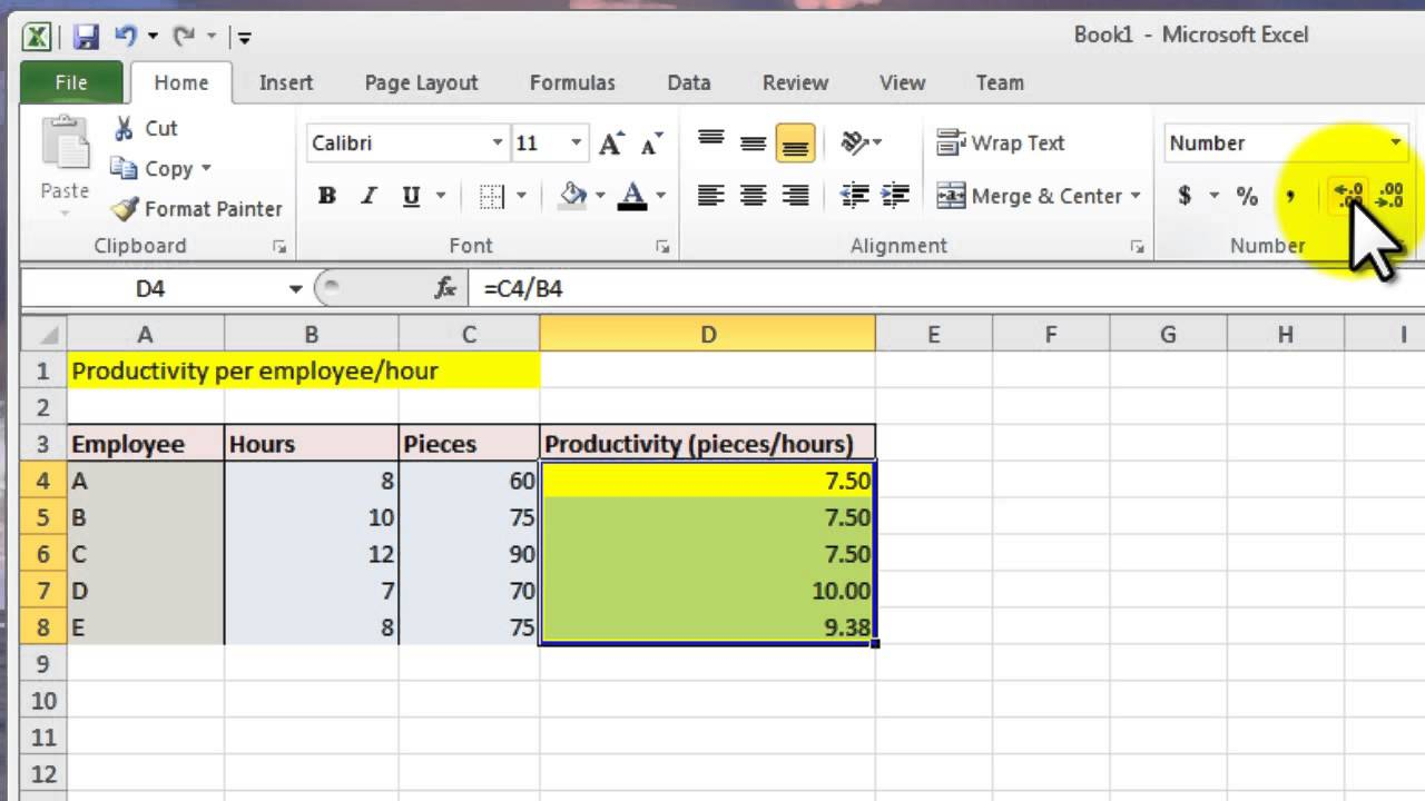 Excel Spreadsheet Tutorial Pertaining To How To Calculate On Excel Spreadsheet Tutorial Calculation