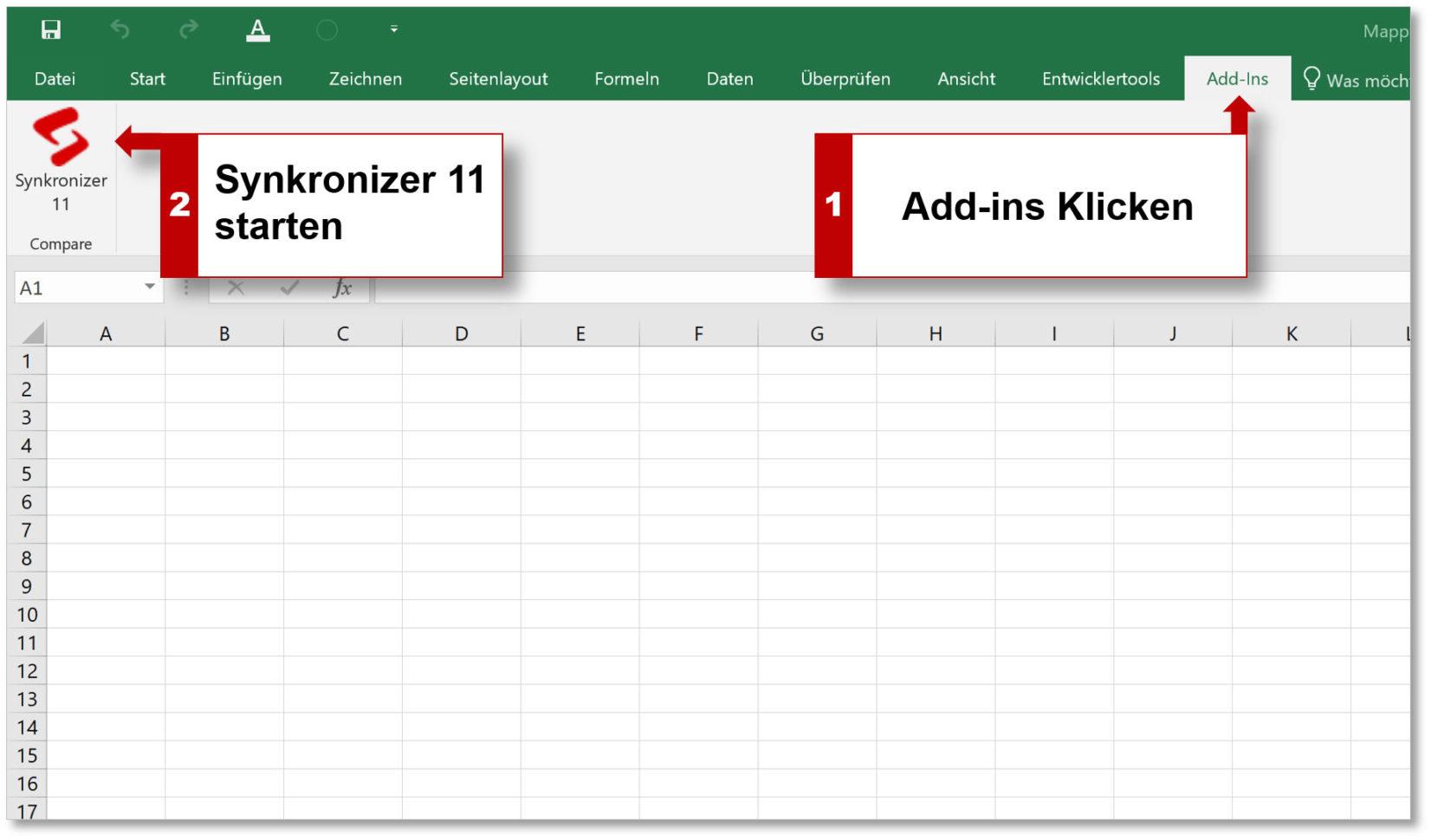 Excel Spreadsheet Validierung Pertaining To Synkronizer Excel Compare: Excel Tabellen Zusammenführen Und Vergleichen