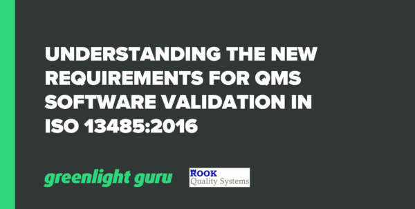 Excel Spreadsheet Validierung Pertaining To Understanding The New Requirements For Qms Software Validation In