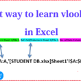 Excel Spreadsheet Video Tutorial With Regard To How To Apply Vlookup Formula In Ms Excel Learn In Simple Hindi Video