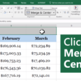 Excel Spreadsheets For Beginners Inside How To Merge Cells In Excel For Beginners Update: January 2019