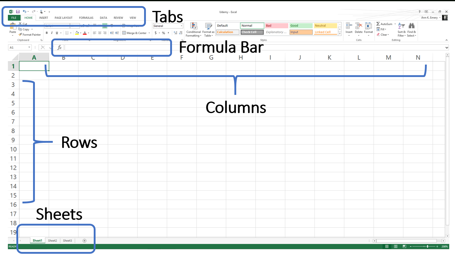 Excel Spreadsheets For Beginners Within The Absolute Beginner's Guide To Spreadsheets  Depict Data Studio