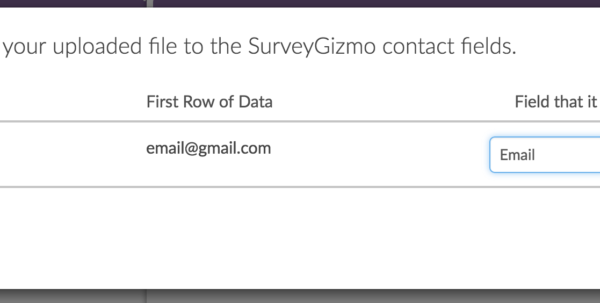 Excel Spreadsheets For Surveyors Inside Email Lists  Surveygizmo Help