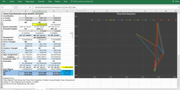 Excel Spreadsheets For Surveyors With Regard To Land Surveying Community Forums