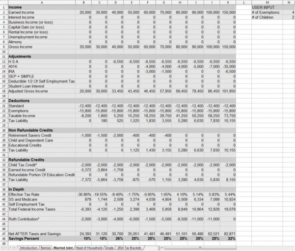 Excel Tax Spreadsheet Regarding Tax Spreadsheets  Aljererlotgd
