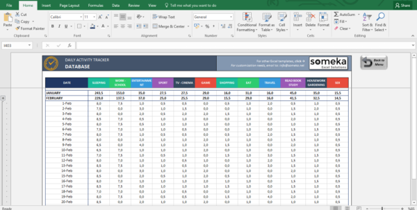 Excel Tracking Spreadsheet Intended For Activity Tracker  Printable Excel Template For Personal Plans Excel Tracking Spreadsheet Google Spreadsheet