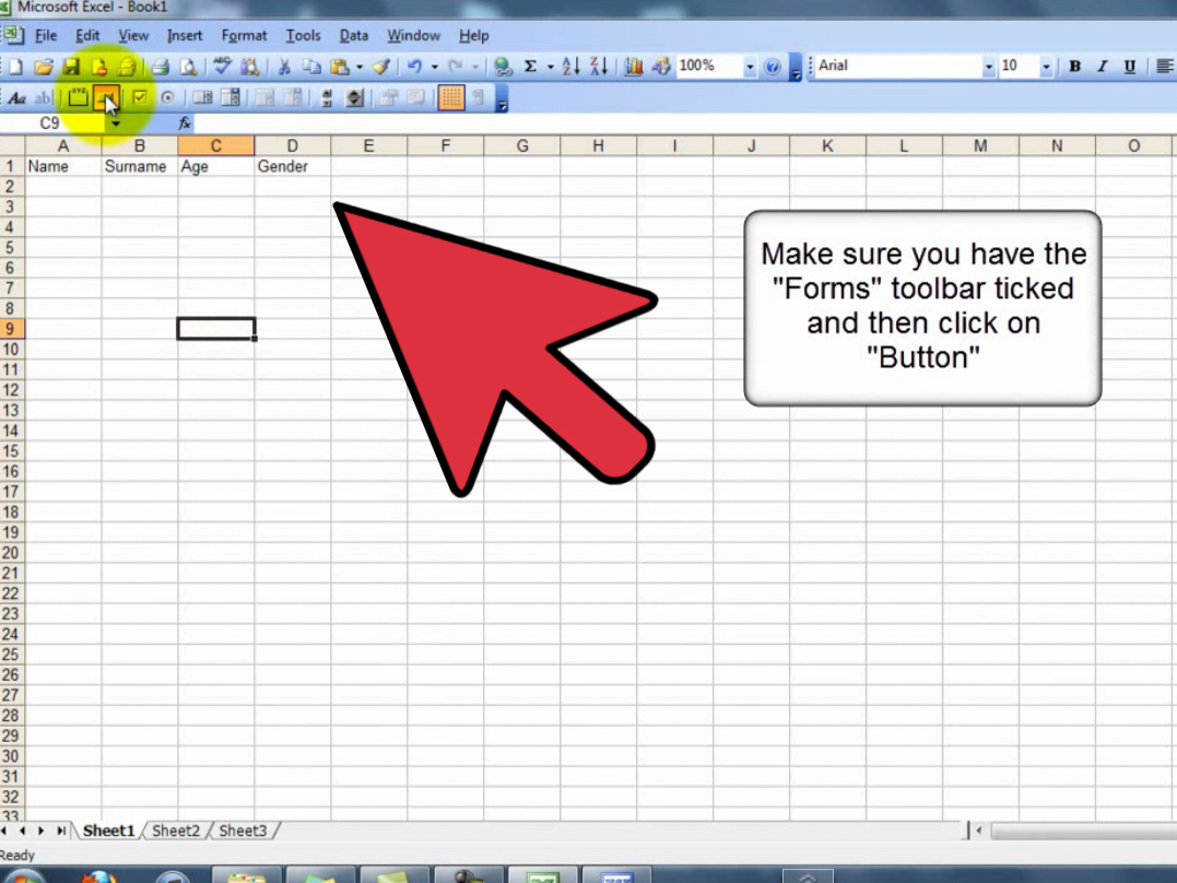 Excel Userform Spreadsheet Control Regarding How To Create A Userform In A Spreadsheet: 13 Steps