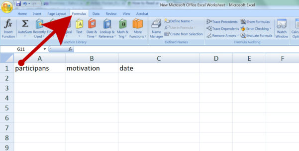 Excell Spreadsheet Intended For How To Read An Excel Spreadsheet: 4 Steps With Pictures