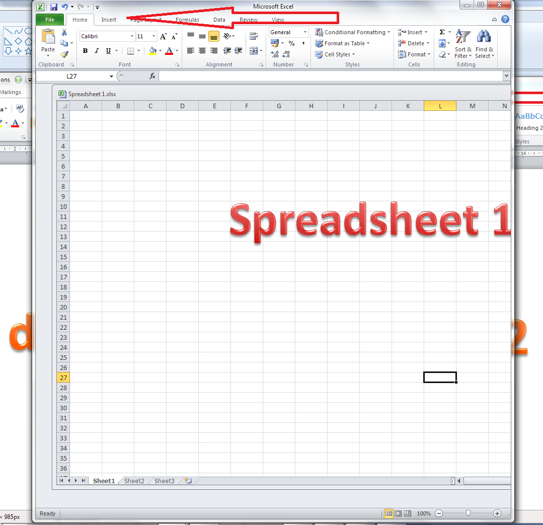 Excell Spreadsheet Pertaining To How Do I View Two Excel Spreadsheets At A Time?  Libroediting