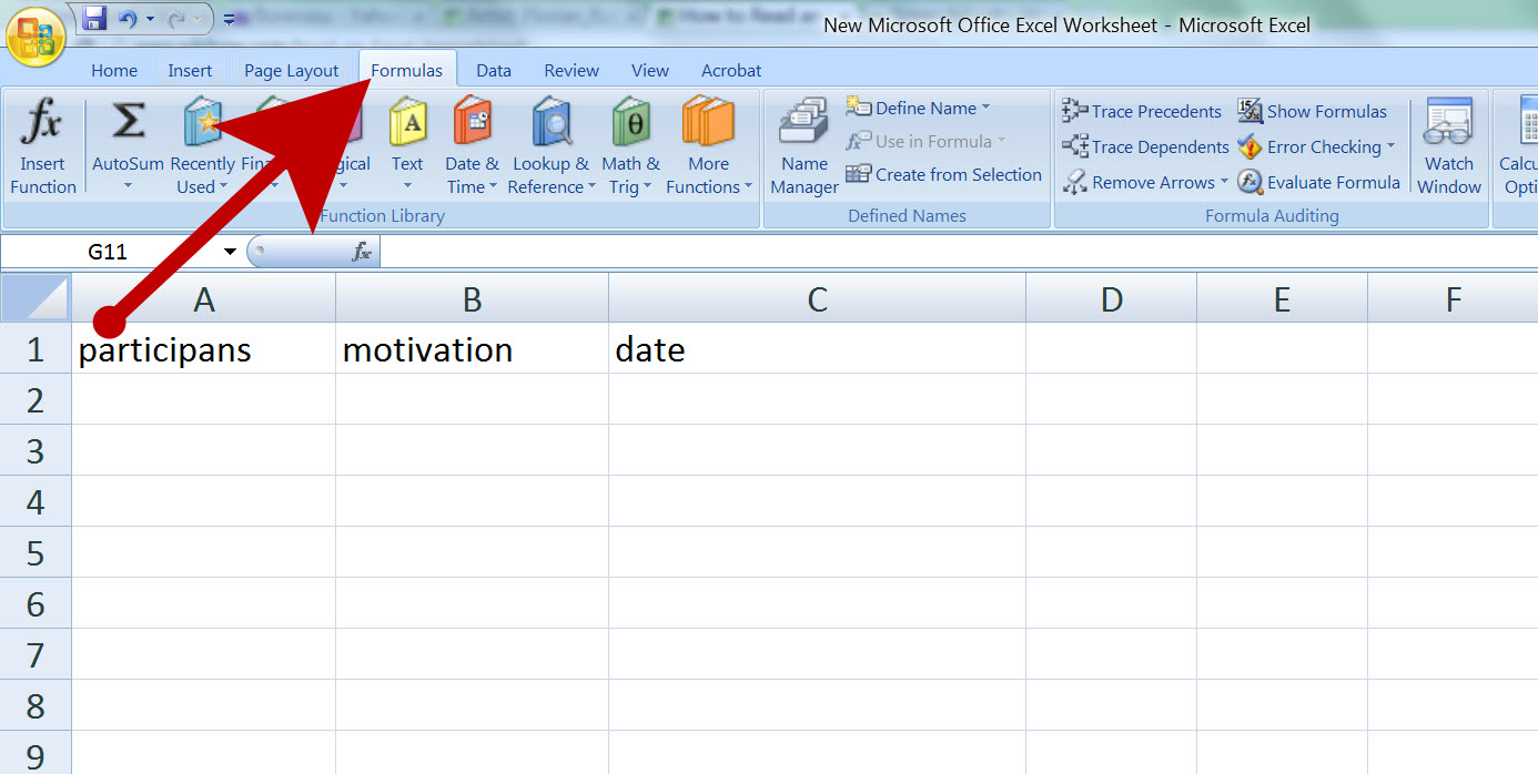 Excell Spreadsheets Intended For How To Read An Excel Spreadsheet: 4 Steps With Pictures