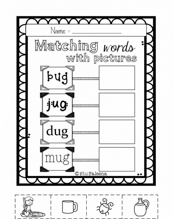 Exercise Spreadsheet With Teaching A Child To Read Worksheets Cvc Word Short U Exercise