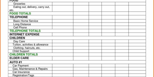 Expenses Spreadsheet Example With Regard To Bills Spreadsheet Template Accounts Uk Budget Excel Expense Free