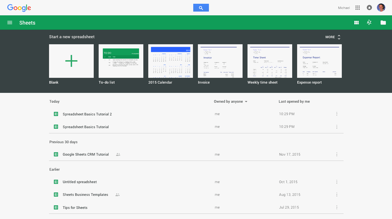 Expenses Spreadsheet Google Sheets Intended For Google Sheets 101: The Beginner's Guide To Online Spreadsheets  The