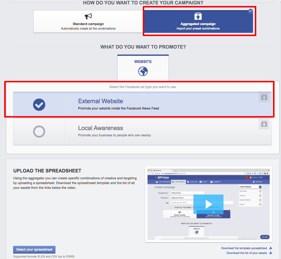Facebook Ad Spreadsheet Inside A/b Testing  A Beginners Guide To Split Testing Facebook Ads In 2017