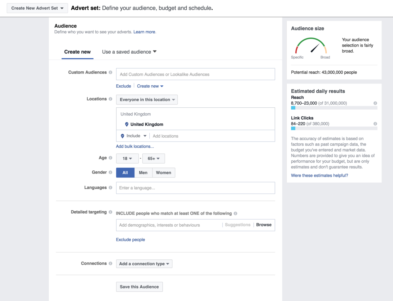 Facebook Ad Spreadsheet With What I Learned Spending $3 Million On Facebook Ads