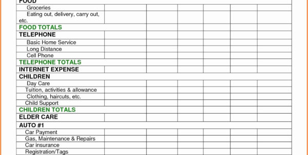 Family Budget Spreadsheet Excel Intended For Household Budget Sheet Template And Spreadsheet U Doc Family Bud