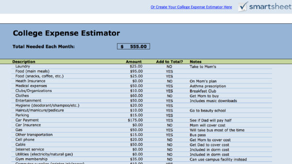 Family Cash Flow Spreadsheet Within 15 Easytouse Budget Templates  Gobankingrates