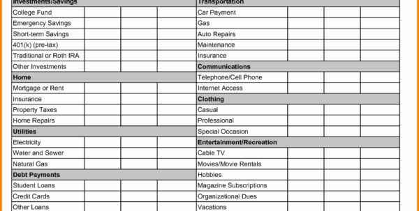 Family Day Care Tax Spreadsheet With Monthly Retirement Planning Worksheet Answers Dave Ramsey New