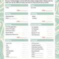 Family Reunion Expense Spreadsheet Within Family Budget Spreadsheet Free Printable Templates  Pywrapper