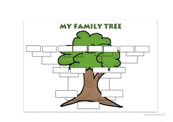 Family Tree Spreadsheet Template Intended For Family Tree Template Worksheet  Free Esl Printable Worksheets Made