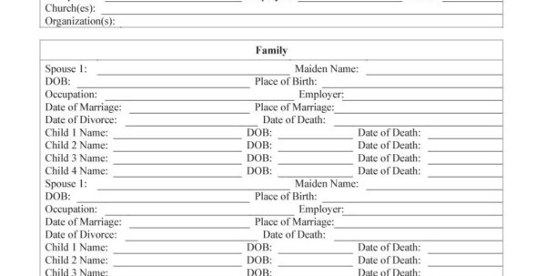 Family Tree Spreadsheet With Regard To 50  Free Family Tree Templates Word, Excel, Pdf  Template Lab