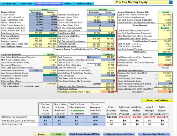 Farm Budget Spreadsheet Excel In Financial  Risk Management Analysis  Farm Management: Software