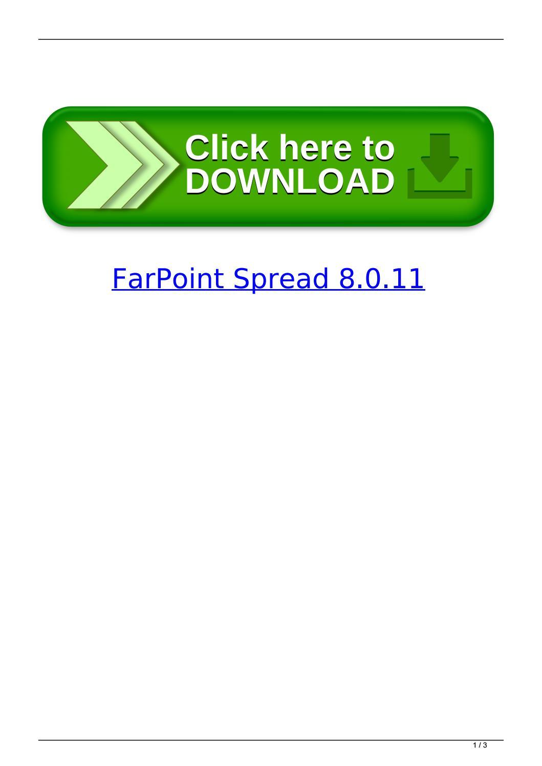 Farpoint Spreadsheet In Farpoint Spread 8.0.11Vijecnaakyb  Issuu