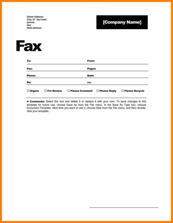 Fax Spreadsheet In Statement Of Confidentiality Template And Statement Printable Fax