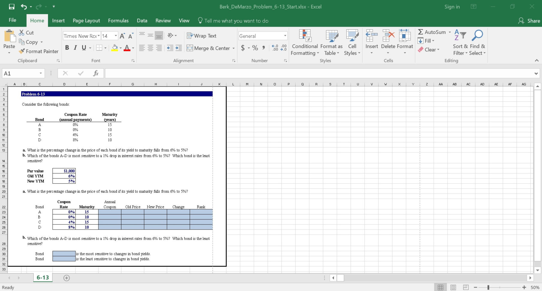 Features Of Spreadsheet In Excel Inside Features For Educators  Mylab Finance  Pearson