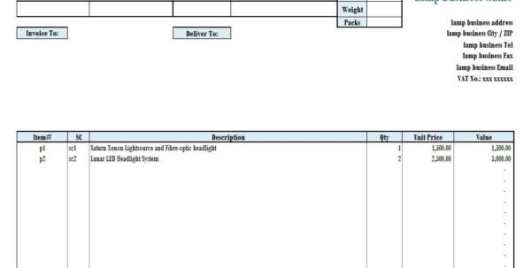 Fiber Optic Spreadsheet For Landscaping Estimate Forms Free And Landscaping Estimate Template