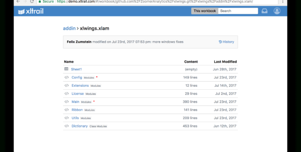 Fibonacci Excel Spreadsheet Regarding Xlwings Is Now On Xltrail!