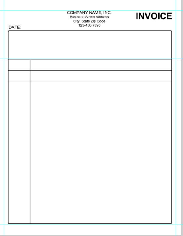 Fillable Spreadsheet Throughout Invoice Template Pdf Fillable  Spreadsheet Collections