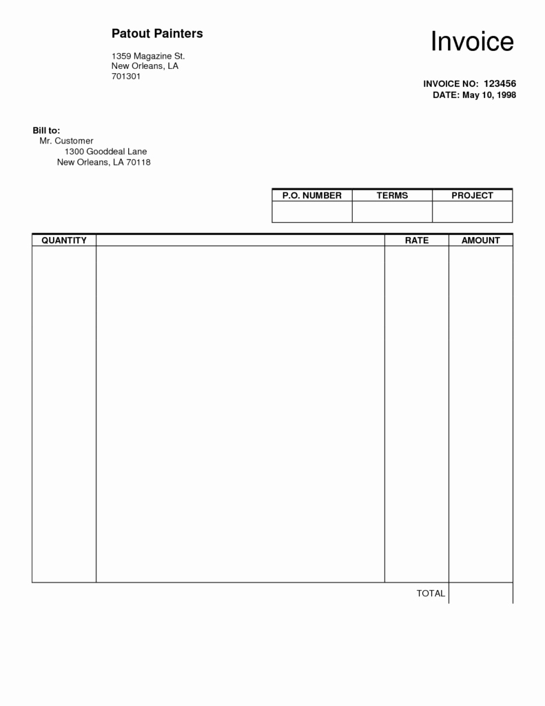 Fillable Spreadsheet Within Free Invoice Template Pdf Fillable Fillable Invoice Template Pdf