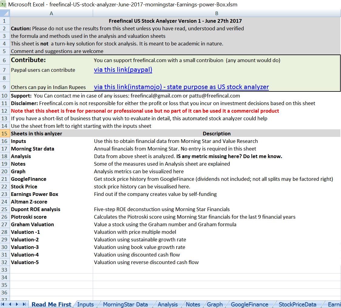 Financial Analysis Excel Spreadsheet In Financial Statement Analysis Excel Spreadsheet  Homebiz4U2Profit