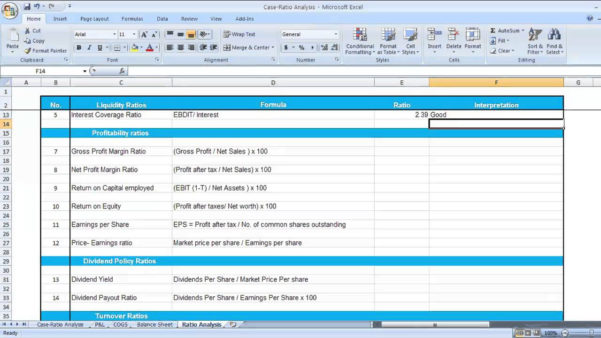 Financial Analysis Excel Spreadsheet Inside Financial Ratio Analysis Excel Spreadsheet – Spreadsheet Collections