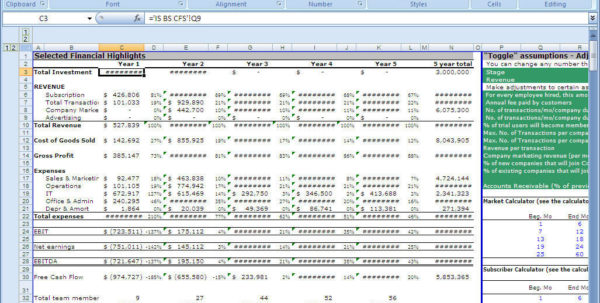 Financial Model Excel Spreadsheet In Financial Model Template Xls Canre Klonec Co Excel Templates