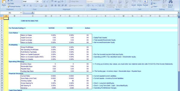 Financial Ratios Excel Spreadsheet Pertaining To Financial Ratios Excelsheet On Software Google  Askoverflow