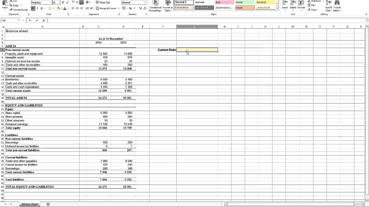 Financial Ratios Excel Spreadsheet With Regard To Financial Ratio Analysis Excel Spreadsheet  Homebiz4U2Profit