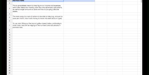 Financial Savings Plan Spreadsheet Inside I Built My Own Financial Planning Spreadsheet
