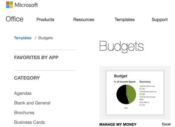 Financial Spreadsheet App Throughout 7  Free Small Business Budget Templates  Fundbox Blog