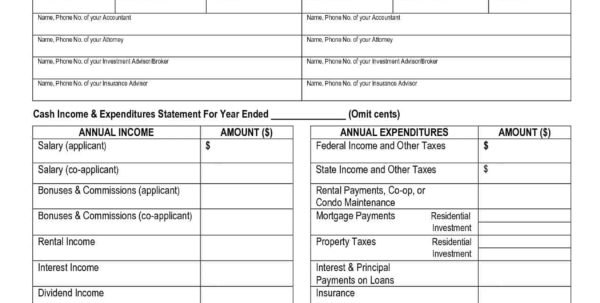 Financial Statement Spreadsheet Template For Small Business Financial Statement Templates And Financial Statement