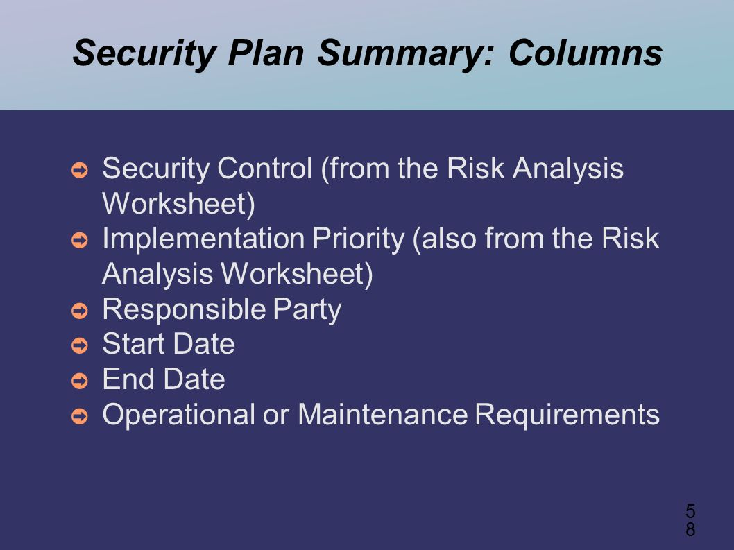 Fips 199 Spreadsheet Regarding 1 Information Security Compliance System Owner Training Module 3
