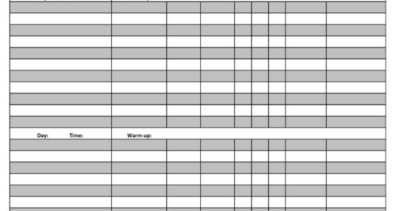 Fitness Plan Spreadsheet For Printable 2Bworkout 2Blogs 2Btemplate Fitness Plan Templates 6