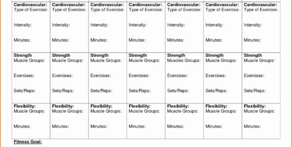 Fitness Plan Spreadsheet Regarding Workout Calendar Template Excel Beautiful Weekly Fitness Plan