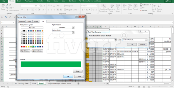 Fiverr Excel Spreadsheet In Create Your Professional Excel Or Word Spreadsheetanni3000