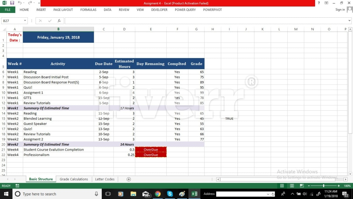 Fiverr Excel Spreadsheet Pertaining To Create Advance Excel Spreadsheet With Advance Macros And Vba