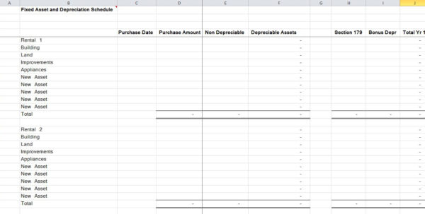 Fixed Asset Spreadsheet Pertaining To 15 Residential Rental Tracking Spreadsheet – Organized Bookkeeping Fixed Asset Spreadsheet Spreadsheet Download
